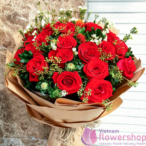 Send flowers to Vietnam on Christmas Day