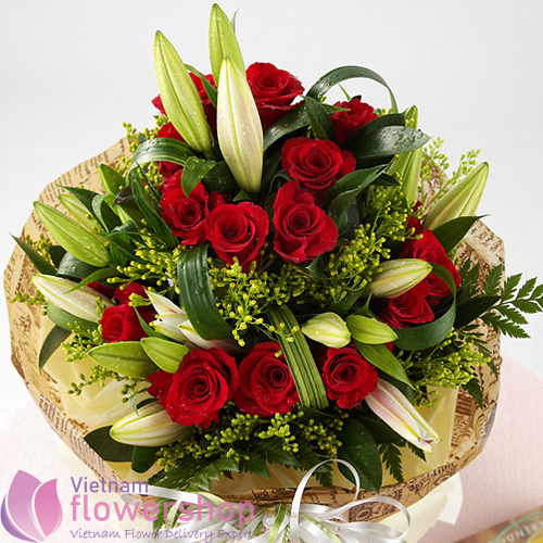 Birthday Flowers Same Day Delivery In Vietnam
