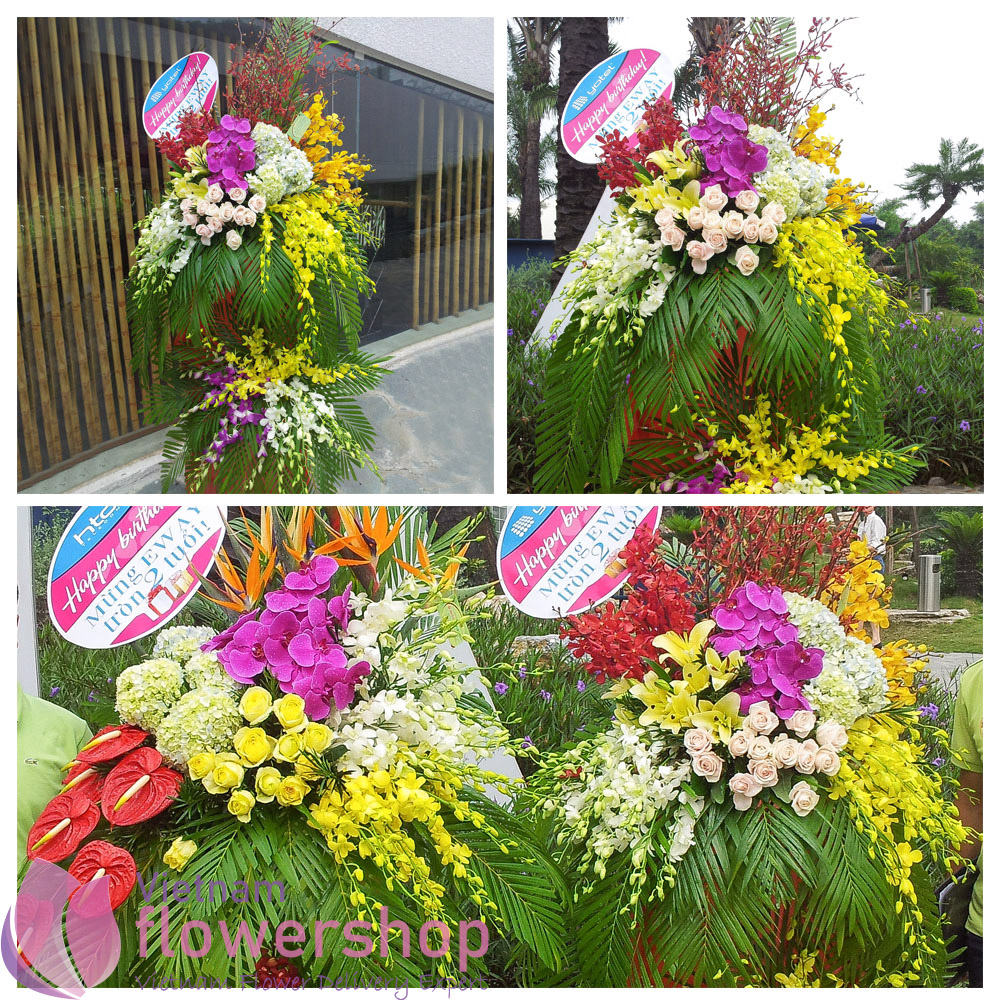 Grand opening flowers for congratulation online