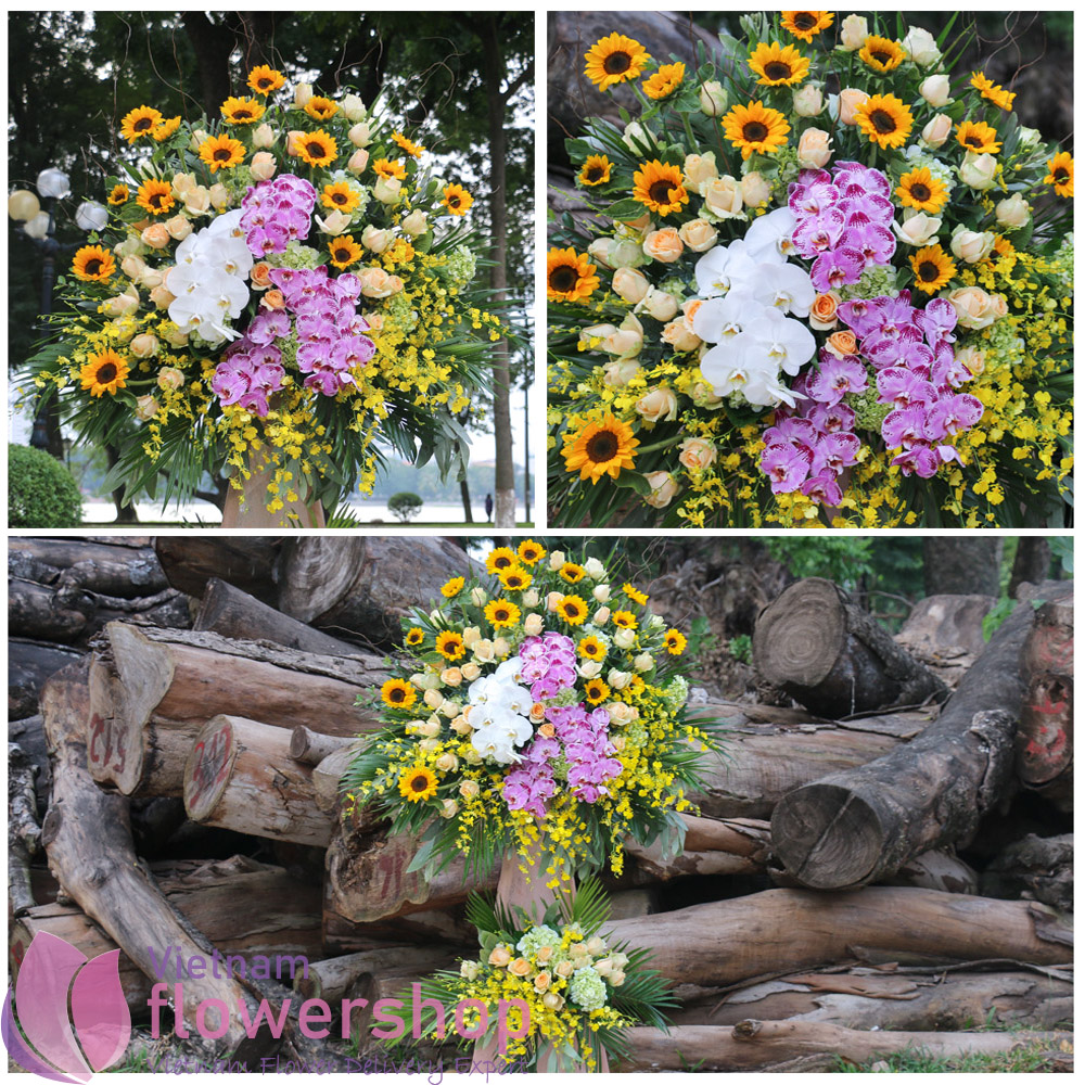 Vietnam Grand congratulations flowers online