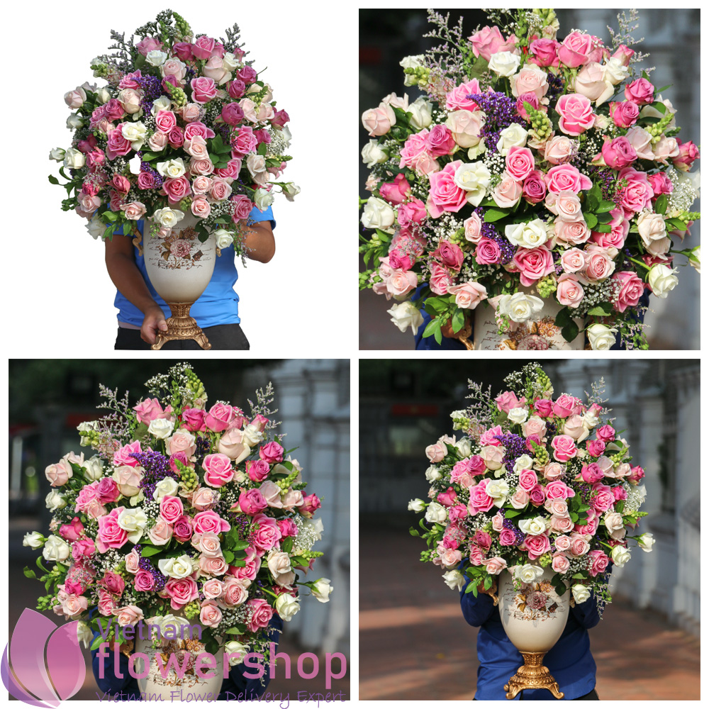 Send birthday flowers to Vietnam
