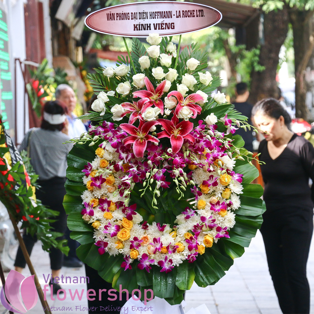 Send sympathy flowers to Vietnam