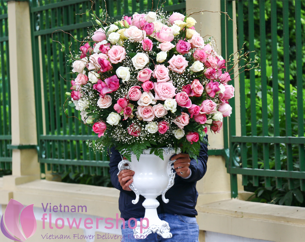 Vietnam luxury flower for delivery
