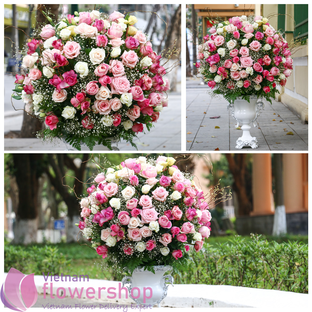 Buying Vietnam luxury flowers for delivery